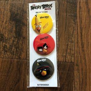 🆕 ANGRY BIRDS button badges